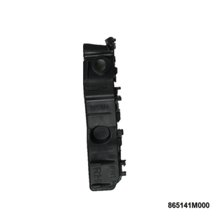 865141M000 for FORTE FRONT BUMPER BRACKET Right Black