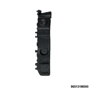865131M000 for FORTE FRONT BUMPER BRACKET Left Black